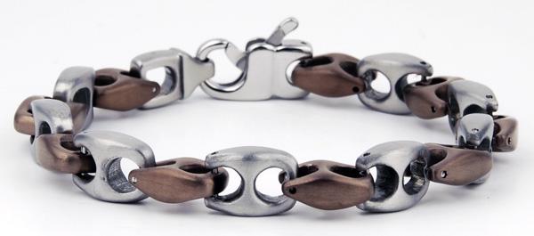 Mens 8.5'' Stainless Steel Bracelet