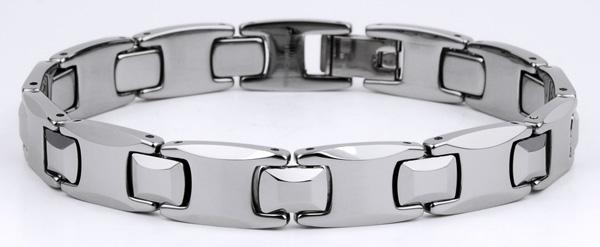 Mens 8.5'' Tungsten High Polished Bracelet