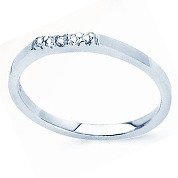 JCX308487: The Perfect Mate; 14kt .05cttw Diamond Contour Band; Fits Most Solitaires and 3 Stone Rings.   Similar Styles R7407D; R7409D; R7417D.