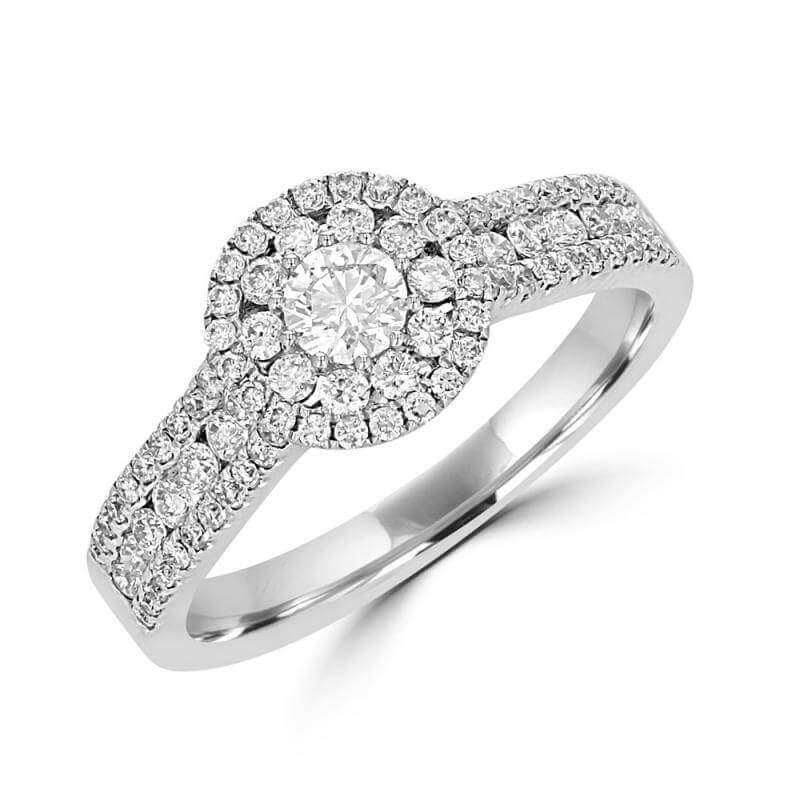 RND DIAMOND PRONG SET RING