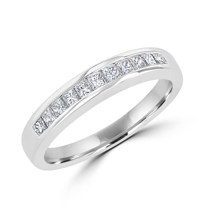 PRINC DIAMOND CHANNEL BAND RING