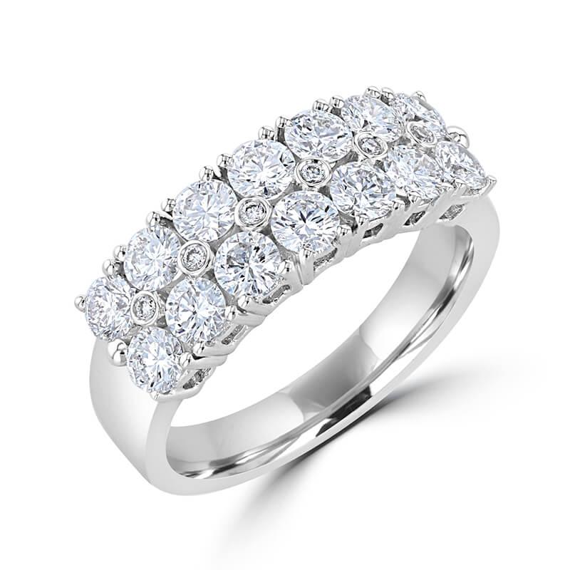 ROUND DIAMOND BAND RING