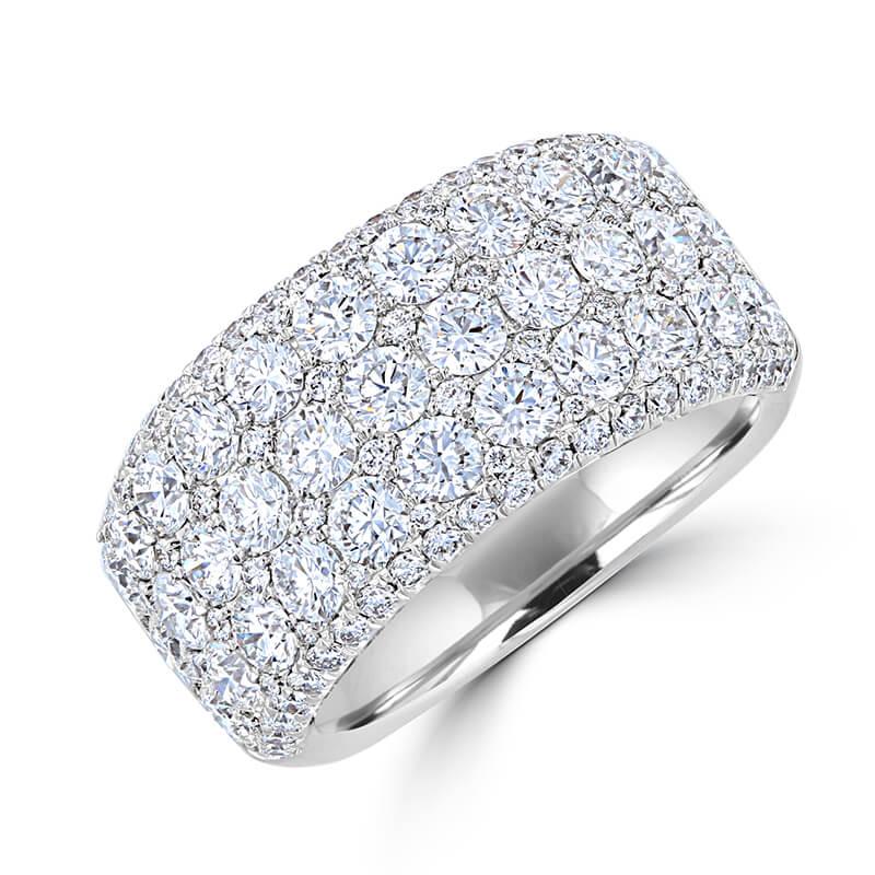 JCX391413: ROUND DIAMOND BAND RING