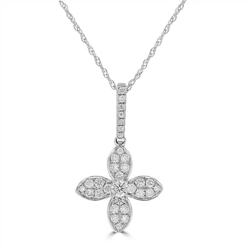 ROUND DIAMOND PENDANT (CHAIN NOT INCLUDED)