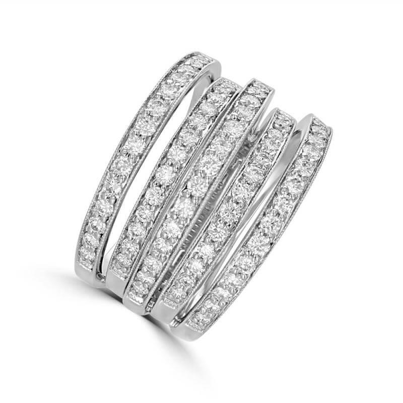 FIVE BAND DIAMOND RING