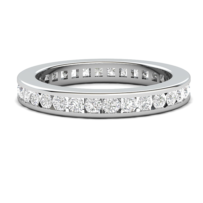 Wedding Band Available in 14k or 18k white gold, yellow gold, rose gold or pl...