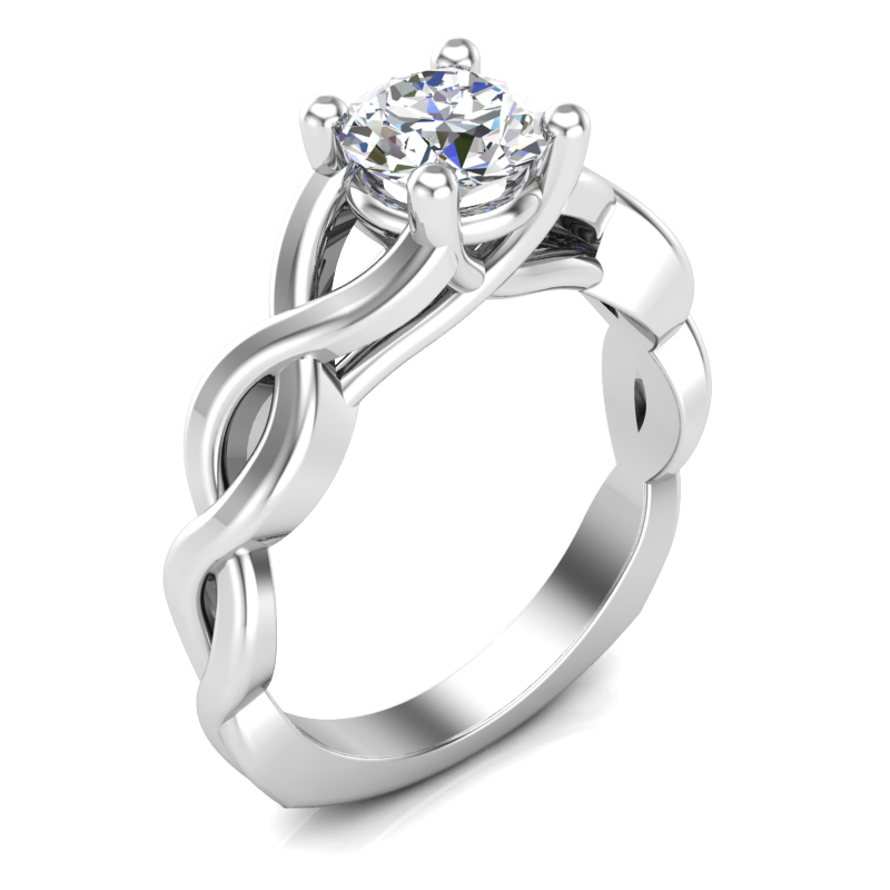 JCX391254: Infinity Solitaire Ring