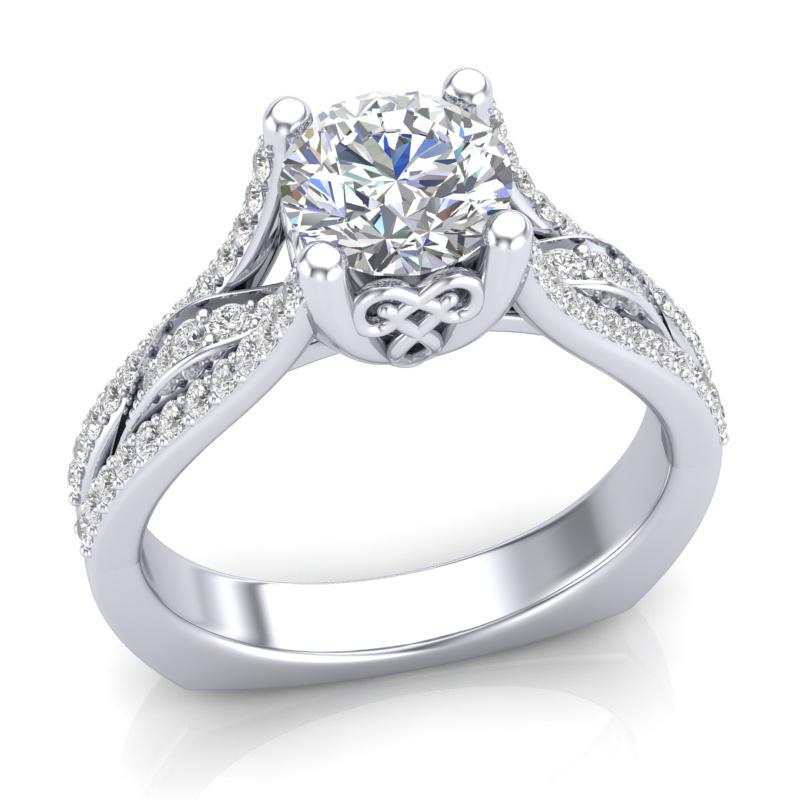 JCX391261: Diamond Engagement Ring
