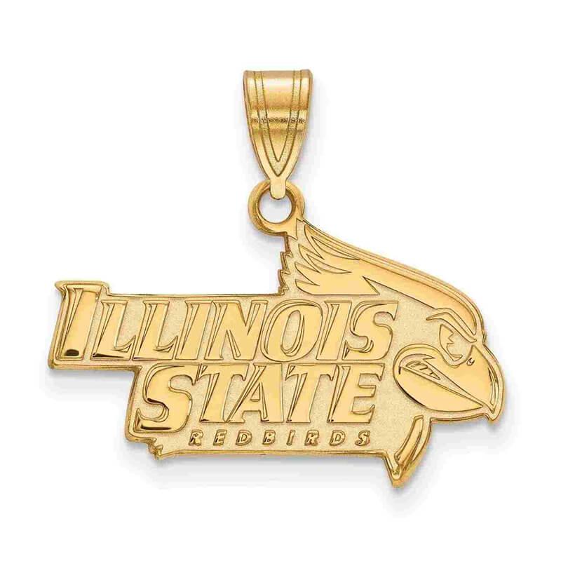 14ky Illinois State University Large Pendant