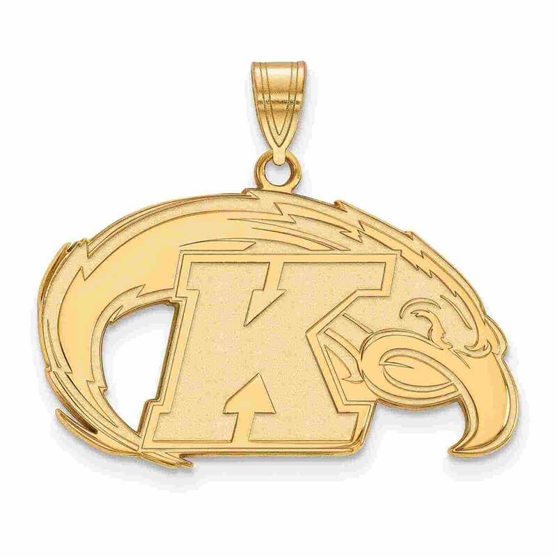 14ky Kent State University Large Pendant