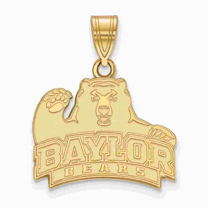 10ky Baylor University Medium Pendant