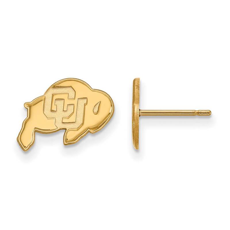 JCX357302: 10ky University of Colorado XS Post Earring