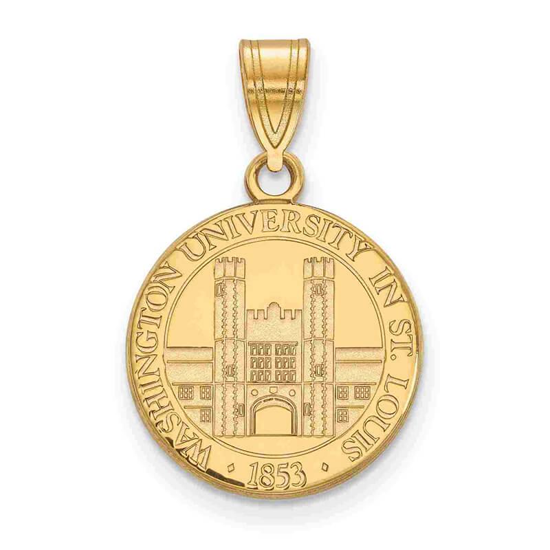 JCX365334: GP Washington University in St. Louis Medium Crest Pendant