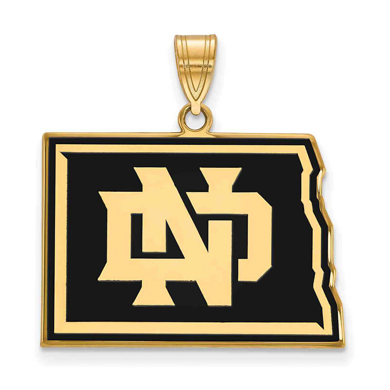 JCX367849: GP University of North Dakota Large Enamel Pendant