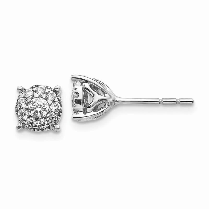 14kw Lab Grown Diamond SI1/SI2; G H I; Earrings