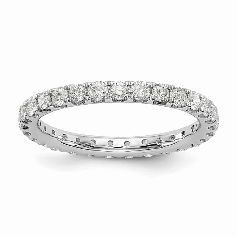 14kw Lab Grown Diamond SI1/SI2; G H I; Eternity Band