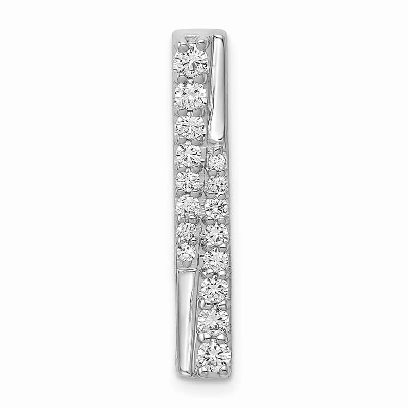 14kw Lab Grown Diamond SI1/SI2; G H I; Fancy Chain Slide