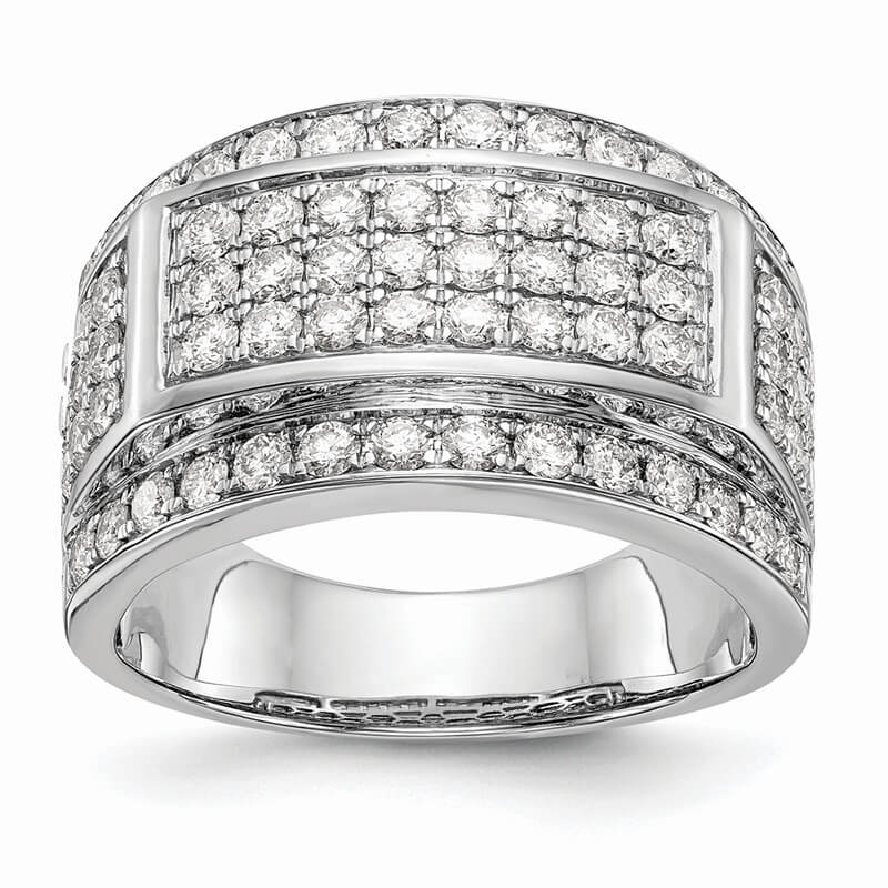JCX1692: 14kw Lab Grown Diamond SI1/SI2; G H I; Men's Band