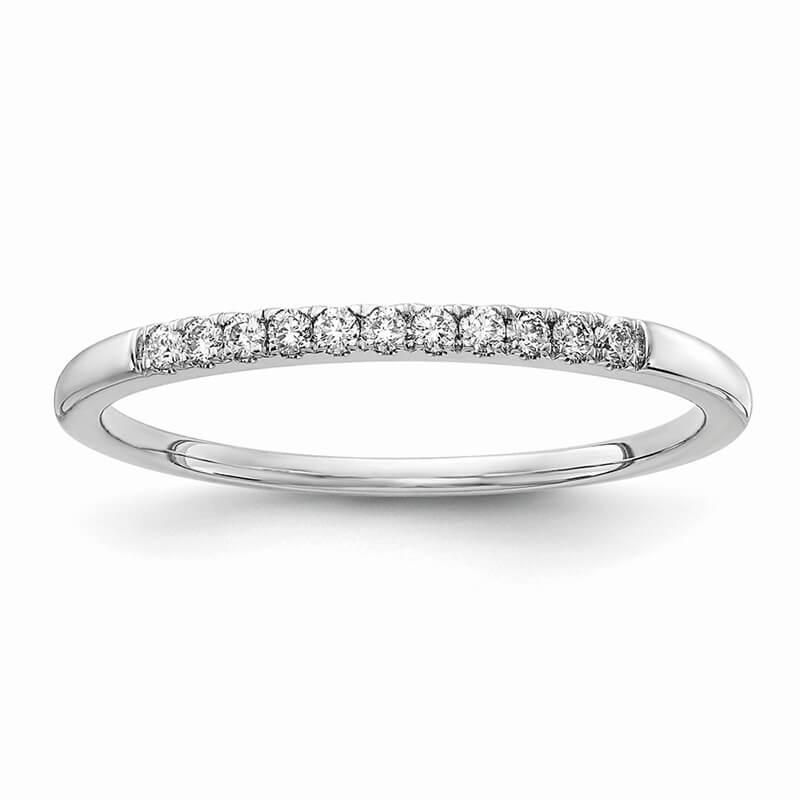 14kw Lab Grown Diamond SI1/SI2; G H I; 1/10ct Wedding Band