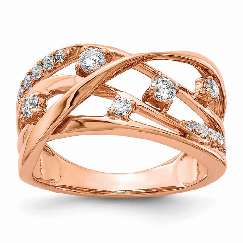 14kr Lab Grown Diamond SI1/SI2; G H I; Ring