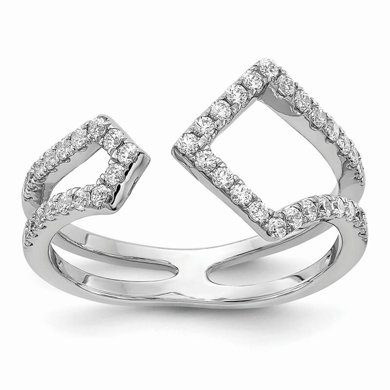 14kw Lab Grown Diamond SI1/SI2; G H I; Ring