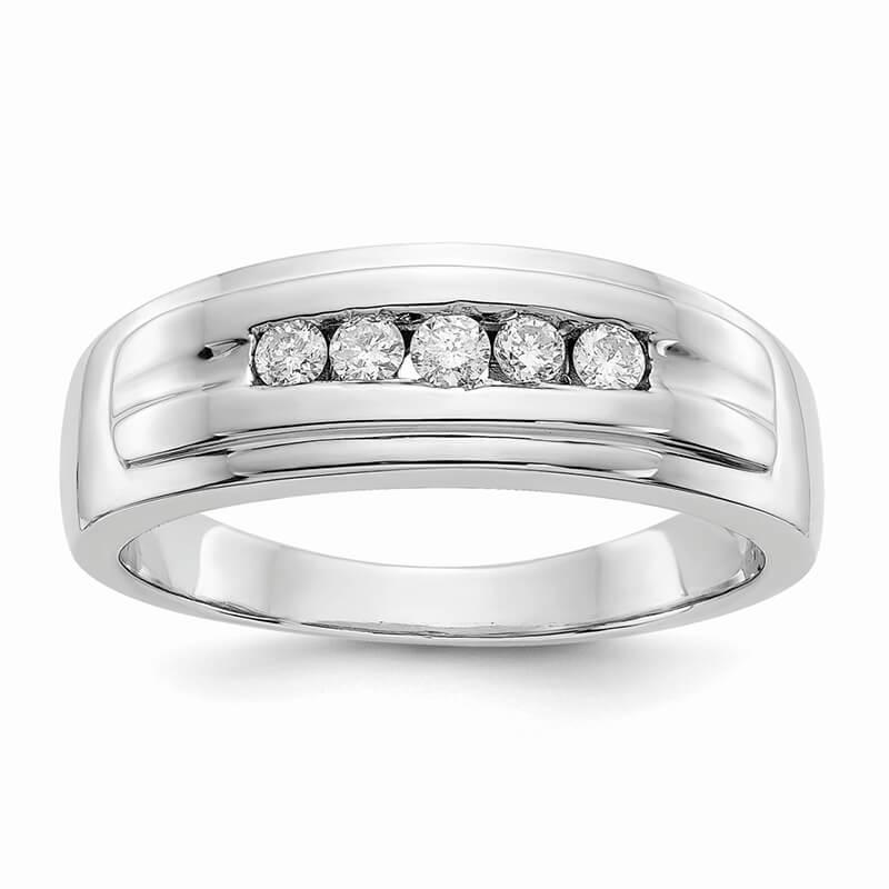 14kw Lab Grown Diamond SI1/SI2; G H I; Men's Ring