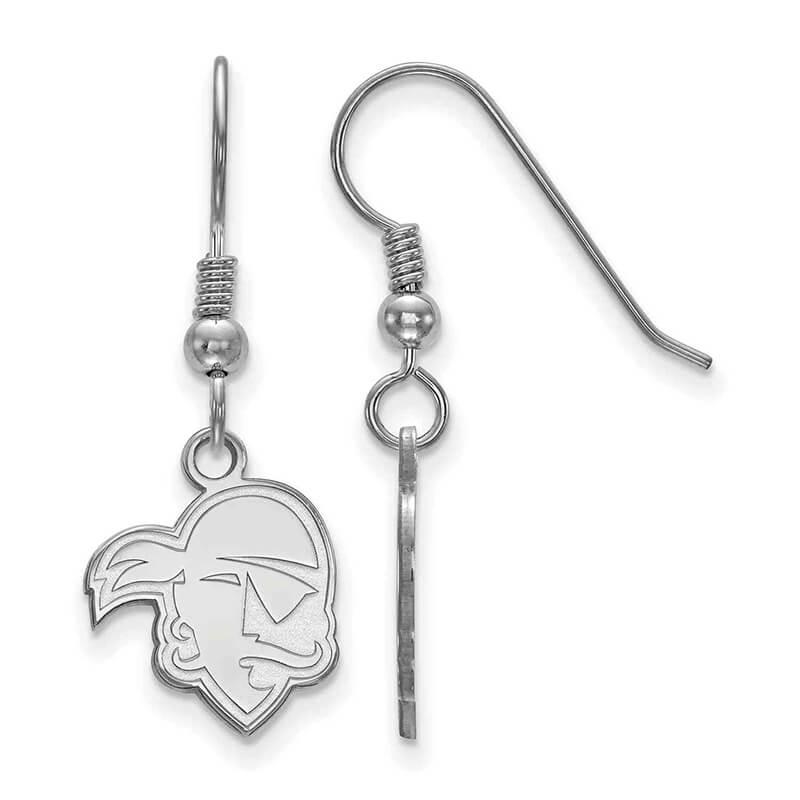 JCX366109: SS Seton Hall University Small Dangle Earring Wire