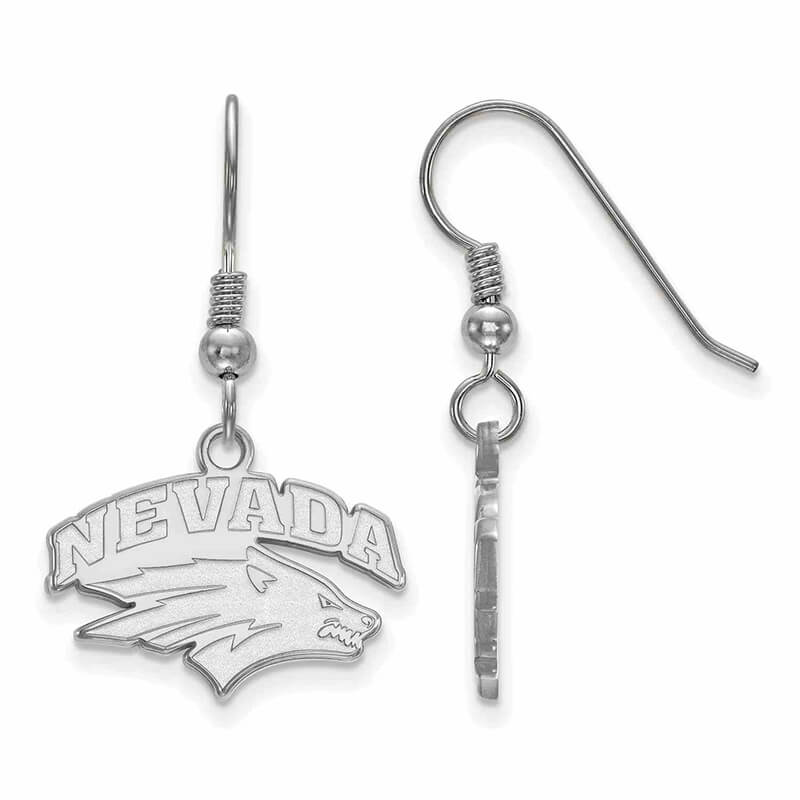 JCX365833: SS University of Nevada Small Dangle Earring Wire