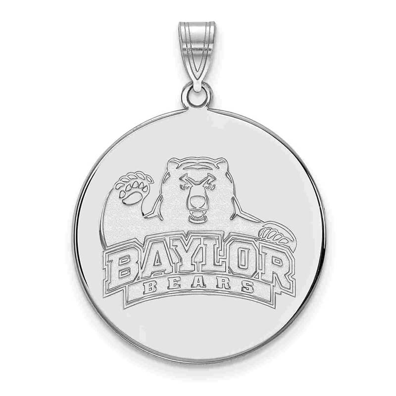 JCX372062: SS Baylor University XL Disc Pendant