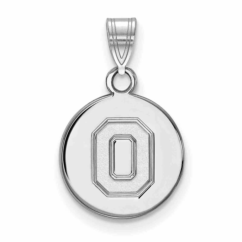 JCX368322: 10kw Ohio State University Small Disc Pendant