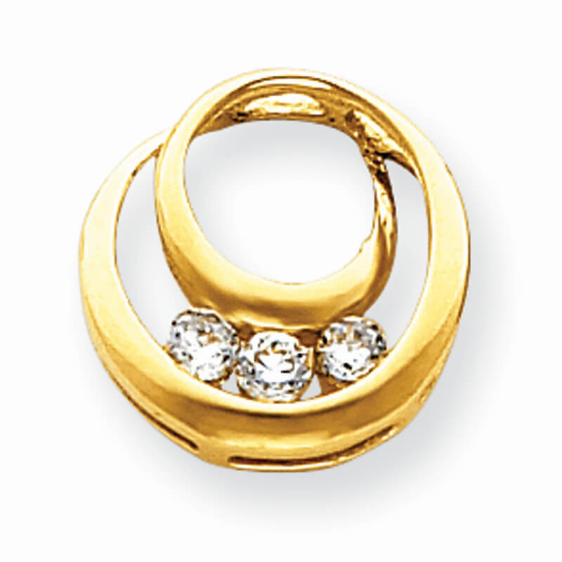14ky Lab Grown Diamond SI1/SI2; G H I; pendant