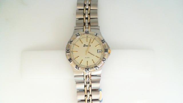 JCS30: Swiss quartz movement gents watch. Water resistant to 100 feet. Scratch resistant crystal.