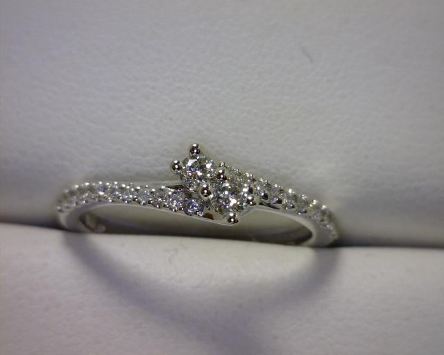 Two of Us Diamond Ring - symbolic of your partnership in life