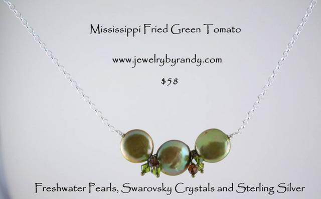 JCSJCS984: Mississippi Fried Green Tomato Pendant 20